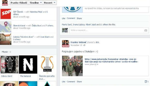 vidovic facebook