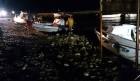 FOTO/VIDEO: Jako nevrijeme sinoć zahvatilo cijelu županiju, pijavica na Murteru!