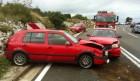 FOTO: Tri crvena automobila šibenskih registracija sudarili se na tri trake
