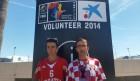 FOTO: I Šibenčani bodre hrvatske košarkaše u Sevilji