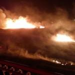 Danas popodne gorjelo u Šibeniku, sinoć se vatra približila kućama u Kninu