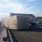 Bura prevrnila kamion na šibenskoj dionici A1