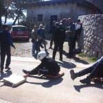 FOTO: Na današnjem treningu, karićima se na stazi niz Tanaju pridružio i karting