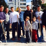 FOTO: ROLAND GARROS NA ŠUBIĆEVCU: Radovi na teniskim terenima u punom jeku