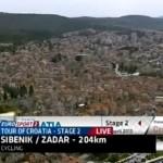 VIDEO: Pogledajte kako su Šibenik vidjeli milijuni gledatelja utrke Tour of Croatia