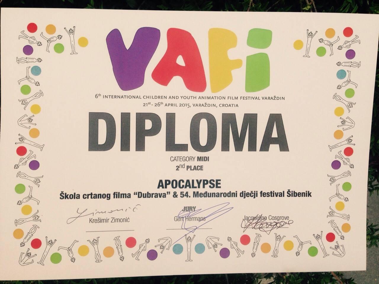 mdf diploma