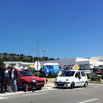 FOTO: Prometna u Njivicama, motorist prebačen u bolnicu