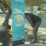 FOTO: Na otoku Zlarinu postavljena turistička signalizacija – info table