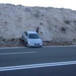 FOTO: Nesvakidašnja prometna na tri trake na izlazu iz tunela prema Dalmare centru u Šibeniku