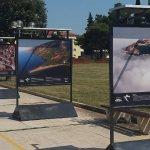 FOTO: Iako gotovo uništena tijekom nedavne oluje u Umagu, izložba 'Hrvatska iz zraka' stiže u Šibenik