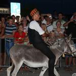 FOTO: Debitant Roko Popov pobjednik 48. tradicionalnih tribunjskih utrka magaraca