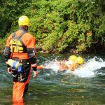 HGSS ŠIBENIK: Vježba spašavanja iz divljih voda