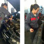 FOTO: JEDINA U ŠIBENIKU: Upoznajte Petru, buduću automehaničarku