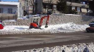 Čisćenje snijega 2012.