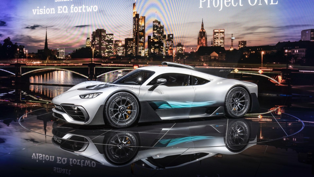 mercvedes project one