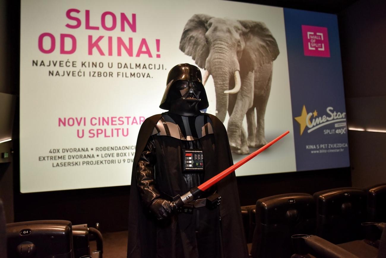 Darth Vader u CineStaru Split