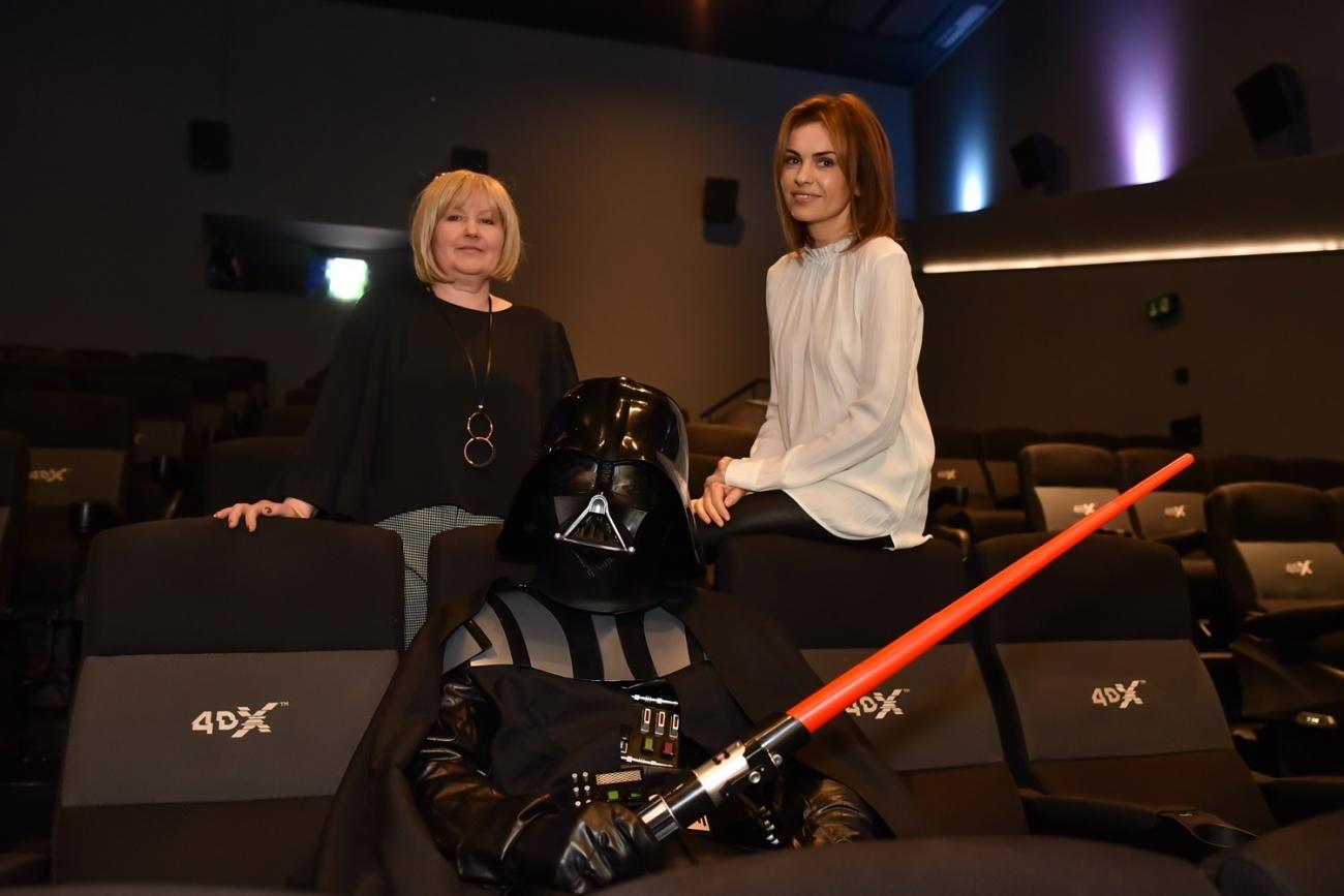 Jadranka Islamovic, Branka Krstulovic i Darth Vader