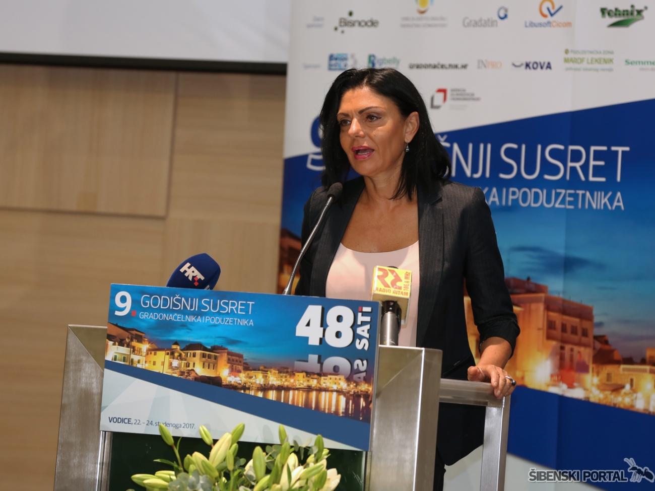 vodice 9 godisnji susret gradonacelnika i poduzetnika nelka tomic 231117 4