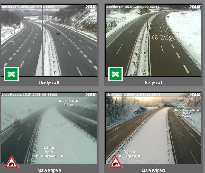 snijeg kamere