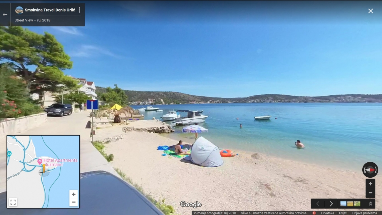 Rogoznica - Google Street View 4