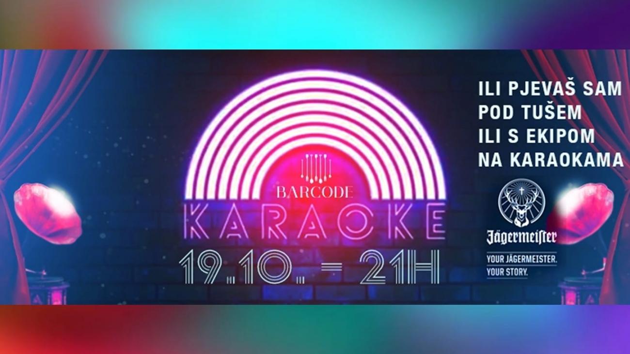 karaoke barcode bar