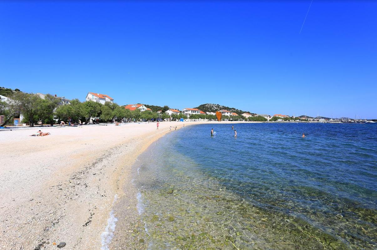 Plaža Luke, Murter