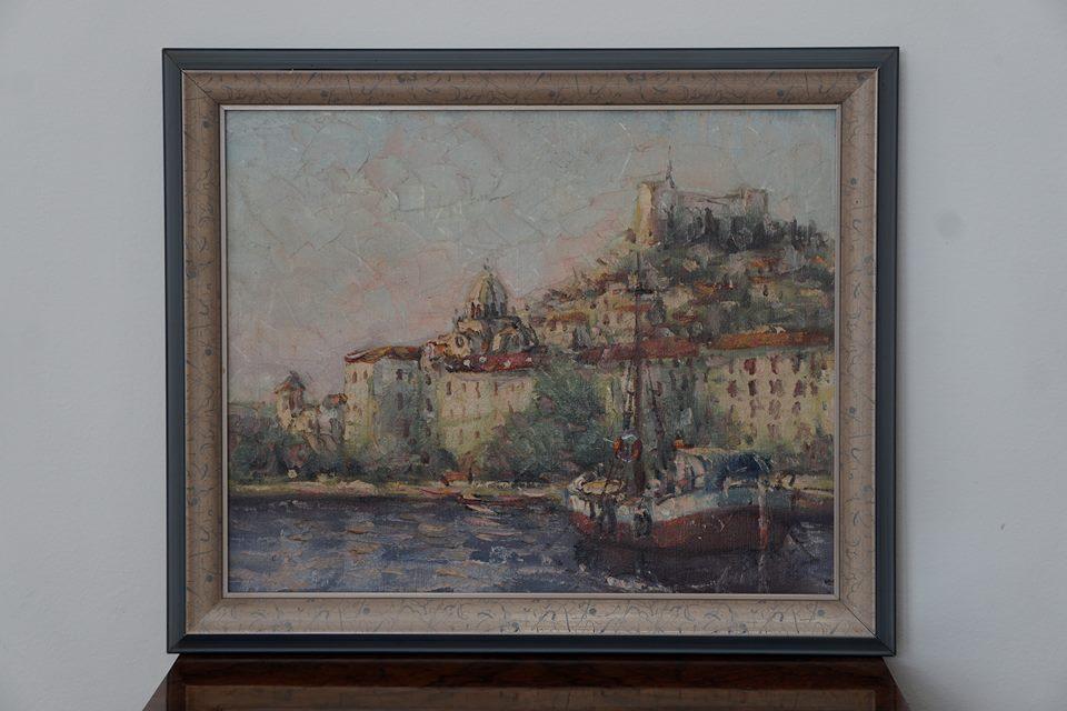 Slika šibenika S Aukcije U Njemačkoj Stigla U Mariborski