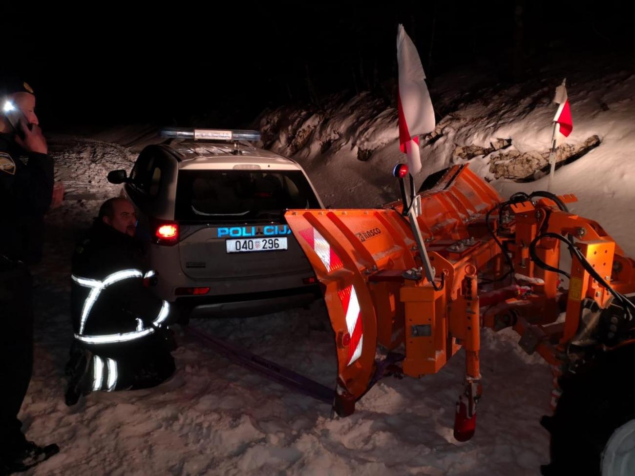 policija snijeg ralica mup