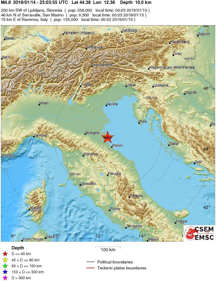 potres italija