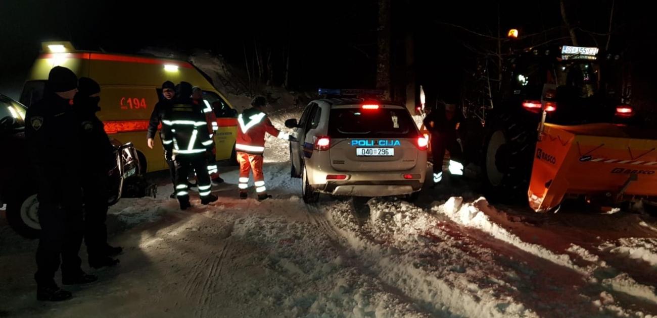 snijeg mup policija