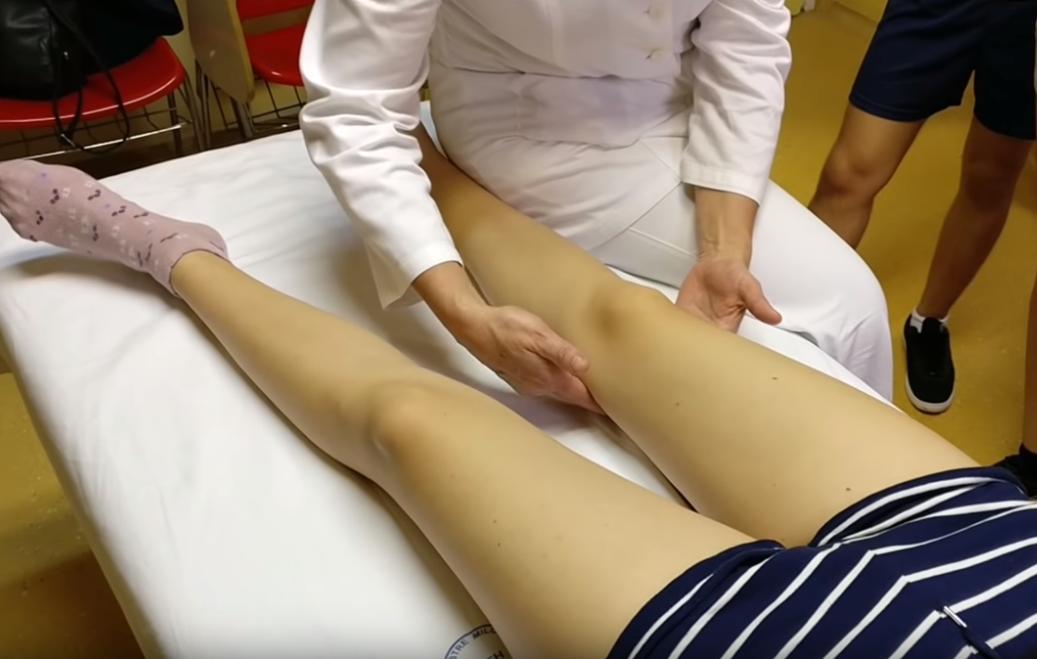 Limfna drenaža noge/Screenshot/YouTube
