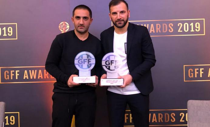 Image result for archil sebiskveradze gff 2019 award